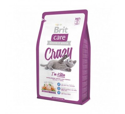 Brit Care Cat Kitten Crazy 2kg