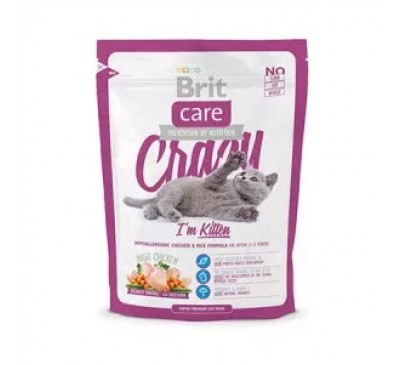 Brit Care Cat Kitten Crazy 400gr