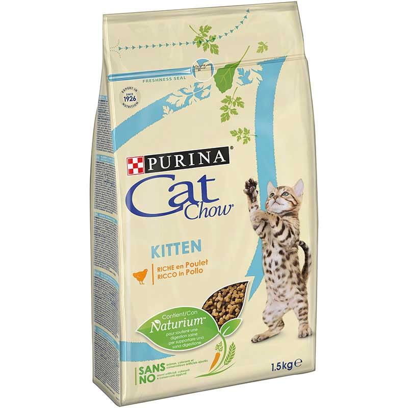 Cat Chow Kitten Κοτόπουλο 1,5kg