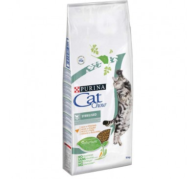 Cat Chow Sterilized Κοτόπουλο 15kg