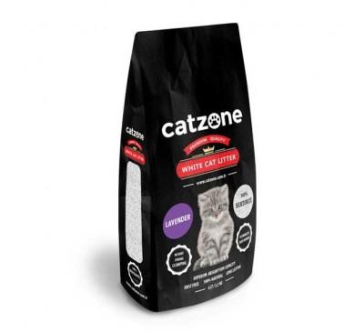 Catzone Cat Litter Lavender Άμμος Γάτας Λεβάντα 5,2kg
