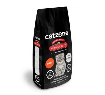 Catzone Cat Litter Orange Άμμος Γάτας Άρωμα Πορτοκάλι 10kg