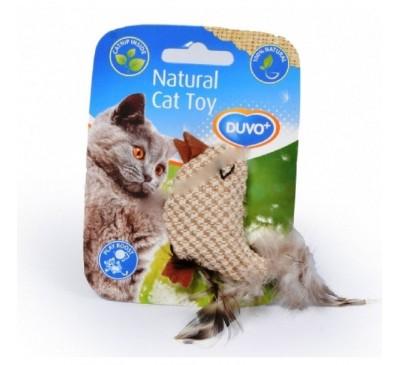 Duvo Παιχνίδι Γάτας Πουλάκι 100% Φυσικό
