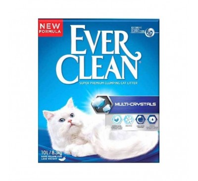 Everclean Multi-Crystals Άμμος Γάτας 10L