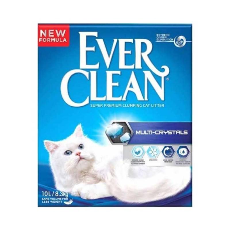 Everclean Multi-Crystals Άμμος Γάτας 10L