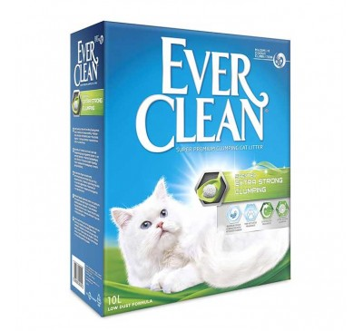 Everclean Extra Strong Scented Άμμος Γάτας 10L