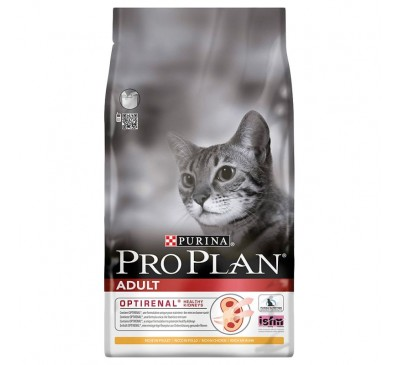 Pro Plan Cat Adult Optirenal Σολομός & Ρύζι 1,5kg