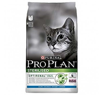 Pro Plan Cat Sterilised Optirenal Κουνέλι & Κοτόπουλο 1,5kg