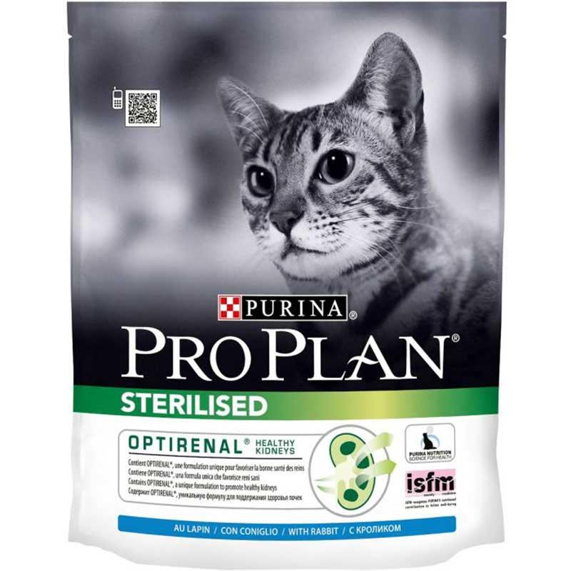 Pro Plan Cat Sterilised Optirenal Κουνέλι & Κοτόπουλο 400gr