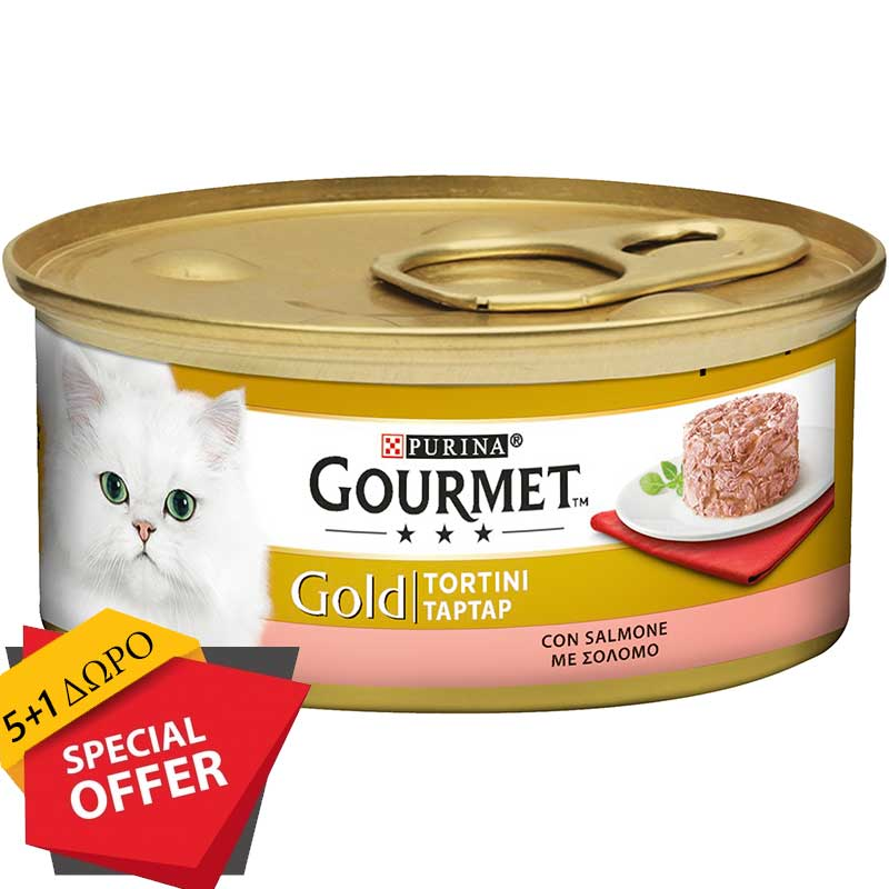 Gourmet Gold Tartar Σολομός 85g (5+1 ΔΩΡΟ)