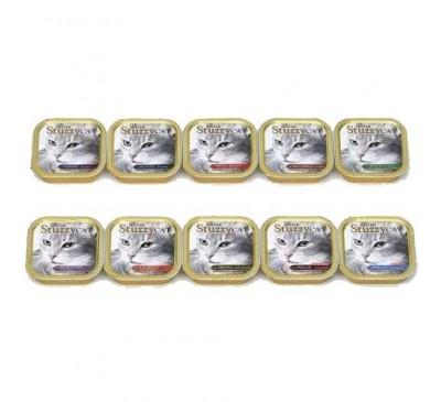 Stuzzy Cat Alucups Υγρή Τροφή Γάτας Σολωμός 100gr