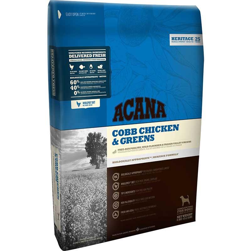 Acana Dog Cobb Chicken & Greens 11,4kg