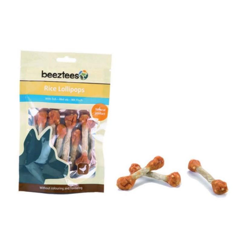Beeztees Λιχουδιά Σκύλου Lollipops Κοτόπουλο Ρύζι 70gr
