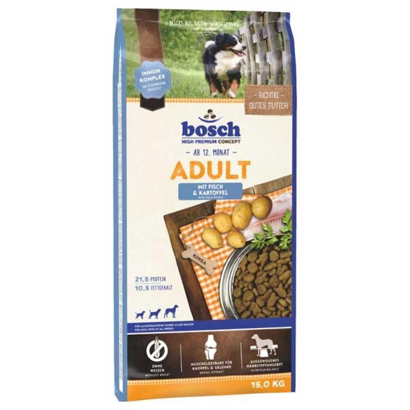 Bosch Κροκέτα Σκύλου Adult Fish & Potato 15Kg