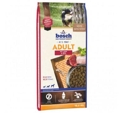 Bosch Κροκέτα Σκύλου Adult Lamb & Rice 15Kg