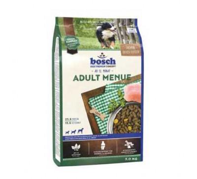 Bosch Κροκέτα Σκύλου Adult Menue 3Kg