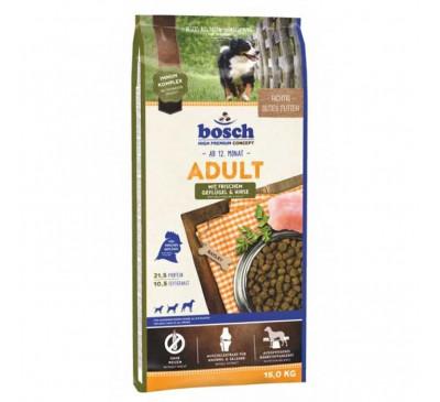 Bosch Κροκέτα Σκύλου Adult Fresh Poultry & Millet 15Kg