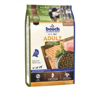Bosch Κροκέτα Σκύλου Adult Fresh Poultry & Millet 3Kg