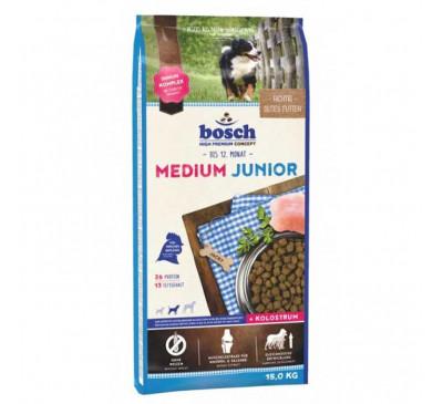 Bosch Κροκέτα Σκύλου Medium Junior 15kg