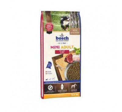 Bosch Κροκέτα Σκύλου Mini Adult Lamb & Rice 15Kg