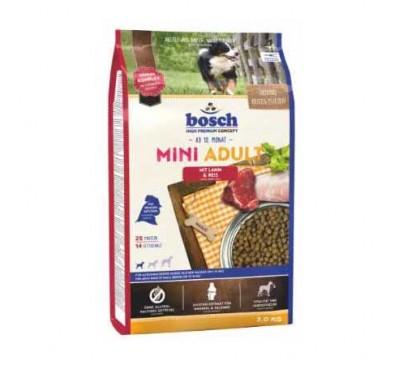 Bosch Κροκέτα Σκύλου Mini Adult Lamb & Rice 3Kg