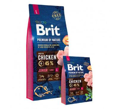 Brit Premium Dog by Nature Junior Large 15kg