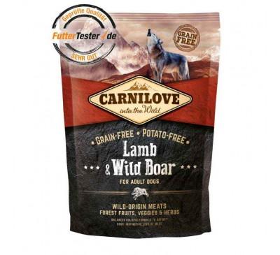 Carnilove Dog Adult Lamb & Wild Boar 1,5kg