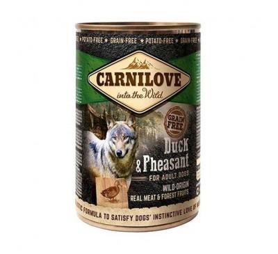 Carnilove Dog Adult Duck & Pheasant Πάπια & Φασιανός 400gr