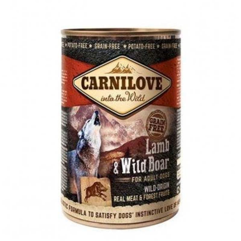 Carnilove Dog Adult Lamb & Wild Boar Αρνί & Αγριογούρουνο 400gr