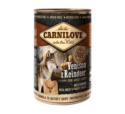 Carnilove Dog Adult Venison & Reindeer Τάρανδος & Ελάφι 400gr