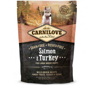 Carnilove Dog Puppies Large Salmon 1,5kg