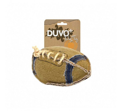 Duvo Παιχνίδι Σκύλου Πάνινο Μπάλα Rugby
