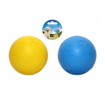 Duvo Παιχνίδι Σκύλου Λαστιχένιο Μπάλα με Σφυρίχτρα 5εκ.