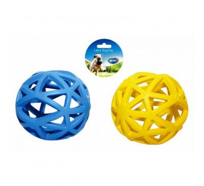 Duvo Παιχνίδι Σκύλου Λαστιχένιο Μπάλα Διχτυωτή 12εκ.