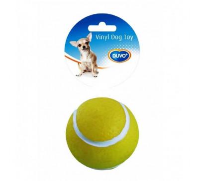 Duvo Παιχνίδι Σκύλου Βινυλίου Μπάλα Tennis 7,5εκ.