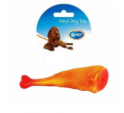 Duvo Παιχνίδι Σκύλου Κοτόπουλο Μπούτι 17εκ