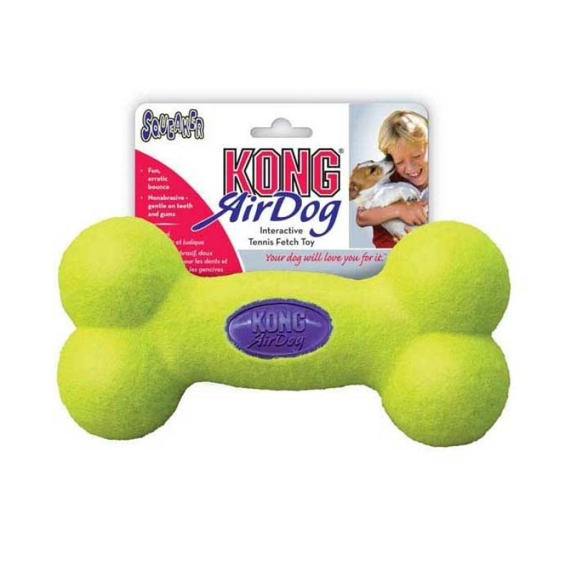 Kong Air Squeaker Bone Small Παιχνίδι Σκύλου