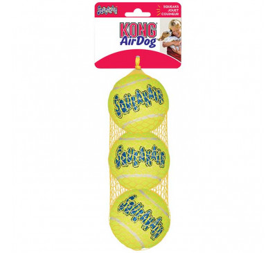 Kong Air Squeaker Tennis Medium Παιχνίδι Σκύλου 3pcs