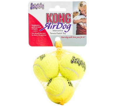 Kong Air Squeaker Tennis Small Παιχνίδι Σκύλου 3pcs