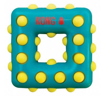 Kong Dotz Square Large Παιχνίδι Σκύλου Τετράγωνο