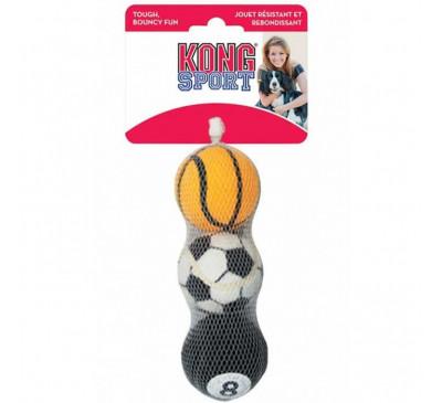Kong Sport Balls Medium Παιχνίδι Σκύλου 3pcs