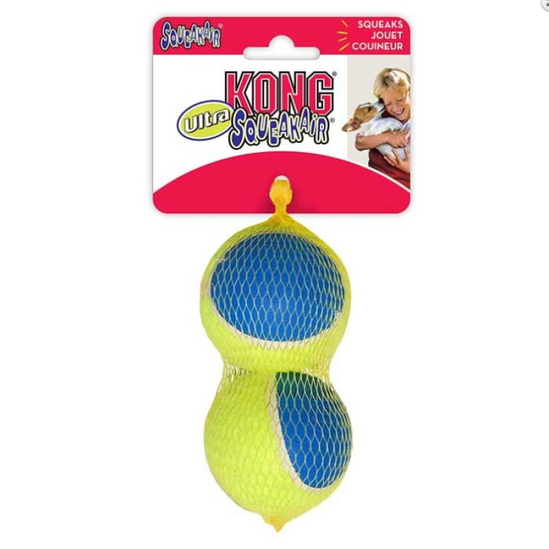Kong Ultra SqueakAir Ball Medium Παιχνίδι Σκύλου Μπαλάκι