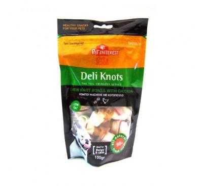 Pet Interest Knots Κόμποι με Κοτόπουλο Red 100gr