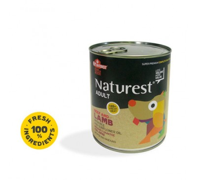 Pet Interest Naturest Adult Beef & Lanb With Carrots & Sunflower Oil 800gr