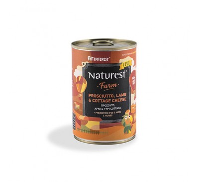 Pet Interest Naturest Adult Lamb And Prosciutto With Cottage Cheese 400gr