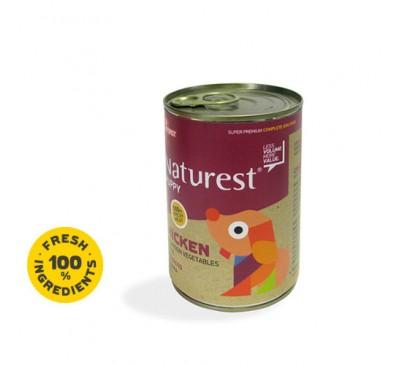 Pet Interest Naturest Puppy Κοτόπουλο με Λαχανικά & Ρύζι 400gr