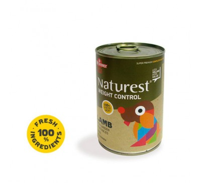 Pet Interest Naturest Weight Control With Lanb and Garden Vegetables 400gr