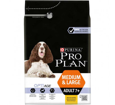 Pro Plan Dog Adult Medium Large 7+ Optiage 3kg