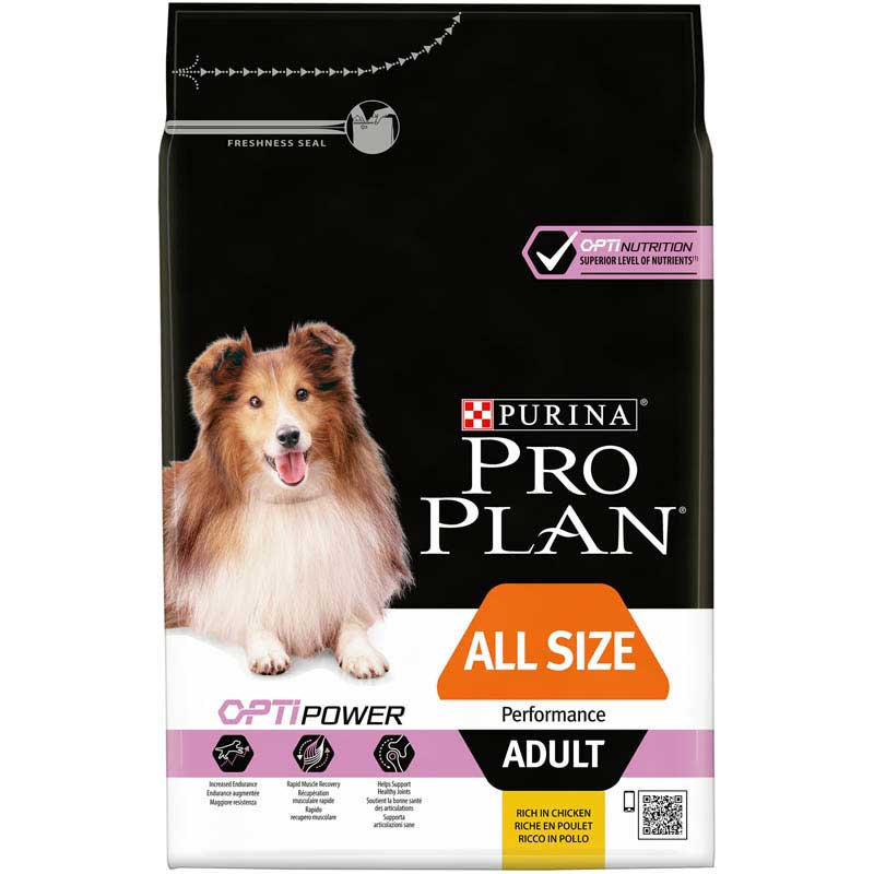 Pro Plan Dog Adult All Size Performance Optipower 3kg