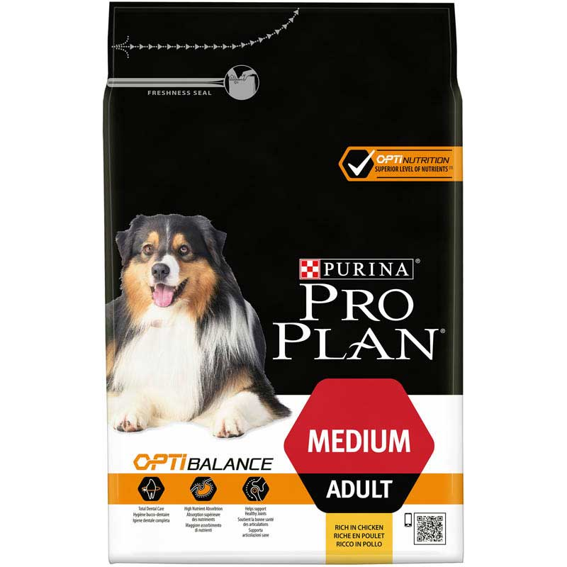 Pro Plan Dog Adult Medium Optibalance 3kg